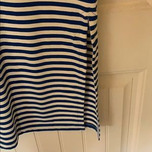 J. Crew Dresses - J. Crew red white and blue midi dress